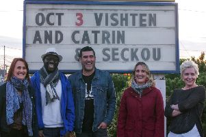 Catrin Finch and Seckou Keita plus special guests Visht�n will play PAC on Saturday, June 13 next year.