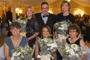 Rebecca Sawyer, Lisa Hogarth, James Ducker, Emily Anetts, Rebecca Ducker and Sally Cass. Picture by David Harrison.