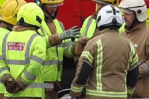 The fire service recorded 2,930 non fire-related medical incidents in 2018-19. Photo: PA Images