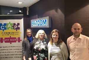 The team at Britcom will be supporting Community Autism Project East Riding throughout 2020.