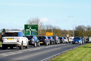 The overall aim of the Shiptonthorpe scheme is to reduce the delays and congestion that can form on the A1079 approaches to the roundabout.