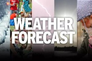 This week's weather for East Yorkshire and Ryedale with forecaster Trevor Appleton.