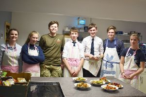 The Pocklington School Sixth Form students rose to the Masterchef challenge.