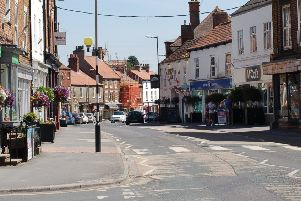The scheme to boost high streets in the area is similar to the one which aimed to help Market Weighton in 2014.