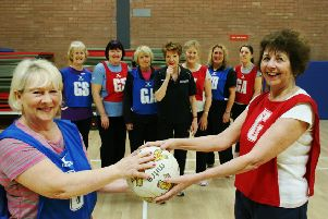 East Riding of Yorkshire Council's sport, play and arts service has launched a new Walking Netball session at East Riding Leisure Francis Scaife, Pocklington.