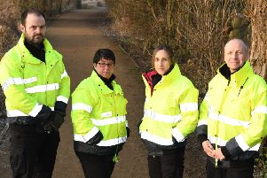 The East Riding of Yorkshire Council Streetscene enforcement team.