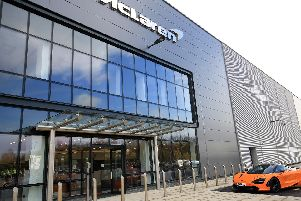 The McLaren factory was built by Harworth after it received a 4m JESSICA loan