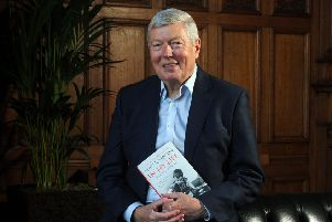 Alan Johnson had the crowd in the palm of his hands.