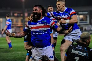 David Fifita was praised by head coach Chris Chester after his two-try display. PIC: James Heaton.