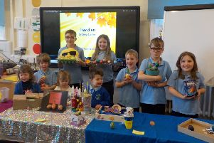 Pupils at Bishop Wilton School enjoyed a variety of Easter-themed activities.
