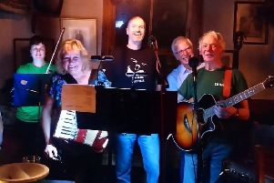 This group of musicians who live in Millington, collectively known as Fogglesyke, are happy to offer their services as they support Macmillan cancer care.