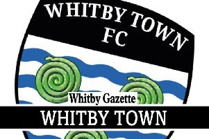 Whitby Town lost 2-0 at home to Farsley