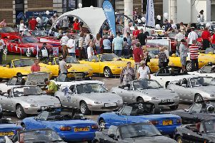 As the centrepiece of the day the club will attempt to smash the existing record for Largest Parade of Mazda Cars, which stands at 683 cars and was set in The Netherlands in 2013.