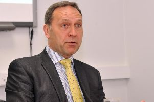Police and Crime Commissioner Keith Hunter.