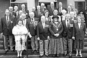 Civic dignitaries in 1997.