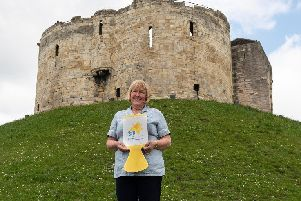 Marie Curie nurse Susan Ebbage has thanked everyone involved in making this year's Great Daffodil Appeal a resounding success.