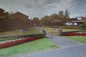 The short service will take place in the World War II Memorial Garden on Grape Lane, Pocklington at 11am. Photo courtesy of Google Maps.