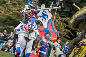 The Knights of Nottingham will be showcasing their skills in the main ring area at this year's Bishop Wilton Show.
