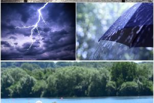 The Met Office says heavy rain and possible thunderstorms are on their way to Wakefield - but the sun will be making a welcome return this weekend.