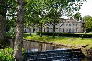 Stunning restoration - The Grade-II listed Grantley Hall in North Yorkshire.