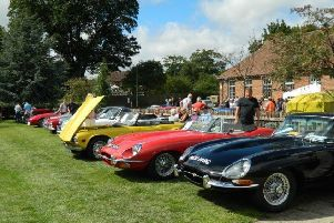 Many classic cars, a few tractors, and motorcycles will be on display on the green.
