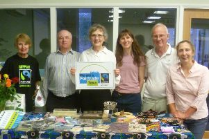 Members of the Pocklington Fairtrade and Local Produce Action Group.