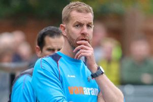 Harrogate Town boss Simon Weaver. Picture: Matt Kirkham