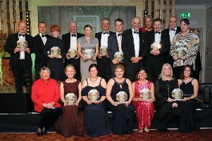Last year's Rural Award winners at the Great Yorkshire Showground, Harrogate.