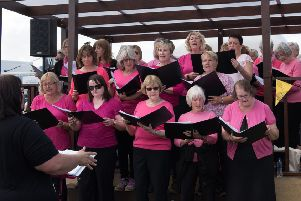 Stamford Bridge Community Choir was selected to perform at the first Countryfile Live event to take place at Castle Howard.