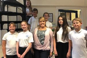 Miss Woodall is the only primary teacher to be chosen from the East Riding.
