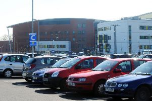 A car park at Pinderfields Hospital will be closed this weekend while re-lining work is carried out.