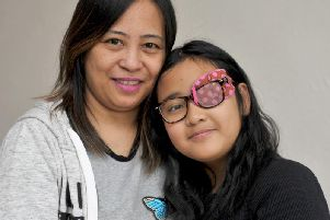 Kirsten Fajardo pictured with her mum Liza.'Picture: Tony Johnson