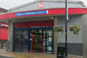 The box was stolen from Pontefract Bus Station on the early hours of Sunday morning