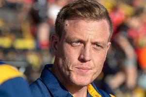 Featherstone Rovers head coach Ryan Carr. 'Picture: Bruce Rollinson.