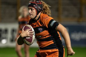 Sammy Watts of Castleford Tigers Ladies. PIC: Jessica Hornby