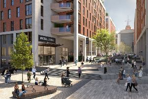 Caddick Group is currently involved with the redevelopment of the six-acre Quarry Hill site in central Leeds. (S)