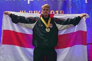 Chorleys Oliver Smith, 16, is a world karate champion in his age group.