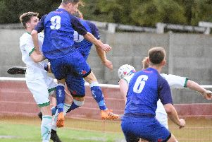 Ric Seear scored for Squires Gate   Picture: ALBERT COOPER