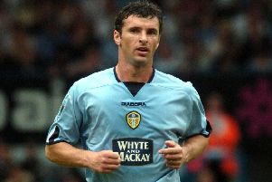 Gary Speed during his Leeds United days