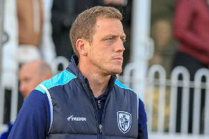 Featherstone Rovers head coach Ryan Carr. Picture: Simon Hall