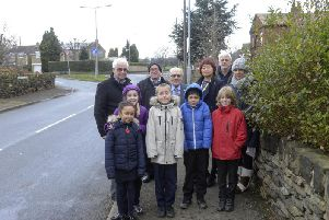 Residents and school pupils want the area to be made safer.