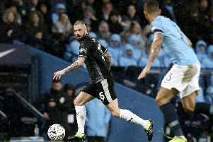 Midfielder Steven Defour is still a doubt for the Clarets when they travel to the Amex Stadium to take on Brighton in the Premier League.