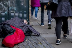 Homelessness: This area has seen the second highest rise.