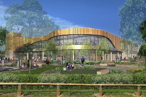 Work will start next month on the �20.8million Five Towns Leisure and Wellbeing Hub in Pontefract Park.