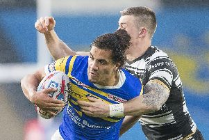 Ashton Golding has been named in Ryan Carr's 19-man squad for the trip to Widnes Vikings. PIC: Allan McKenzie/SWpix.com.