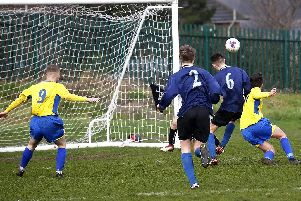 Stocksbridge PS Yellow won 3-0 atPhoenix to go top of the U18 Division Two
