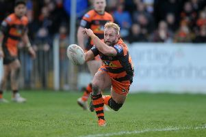 Castleford Tigers' Paul McShane. Picture: Tony Johnson