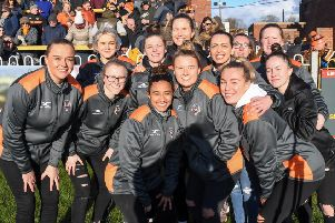 Castleford Tigers women. Picture: Melanie Allatt/News Images