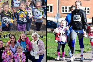 Wakefield Hospice 1k Mini Run 2019.