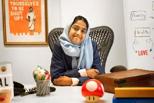 Penny Appeal 'child CEO' Shakira Rahman
